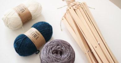 écheveau de laine