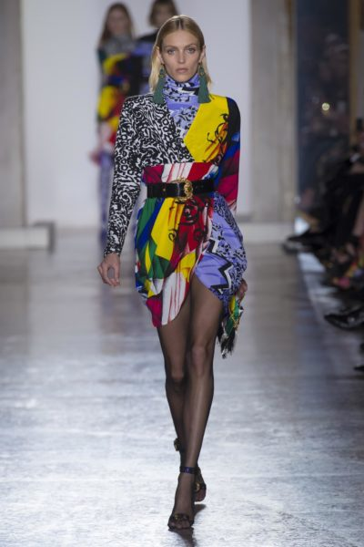 Imprimé foulard Versace