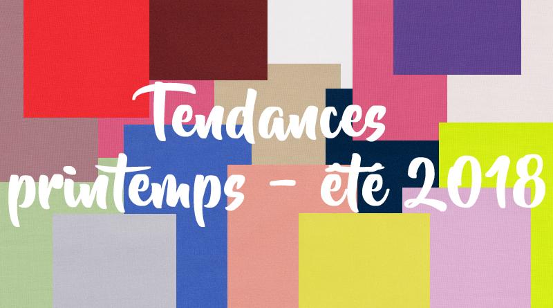 cover Tendances printemps été 2018
