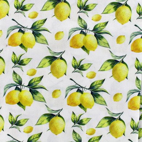 Ma petite mercerie popeline citron